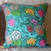 <hr><h3>Joie de Vivre ' Hawaiian Flowers' Cushion Cover</h3>