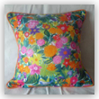 <hr><h3>Joie de Vivre ' Exotic Flowers' Cushion Cover</h3>